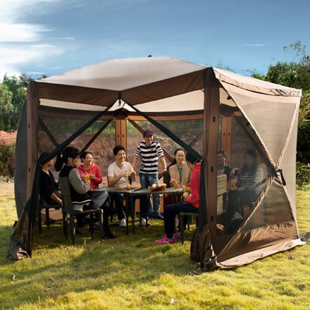f16239ad00a Hub Hexagon Screen House - Q-Yield Outdoor Gear Ltd.